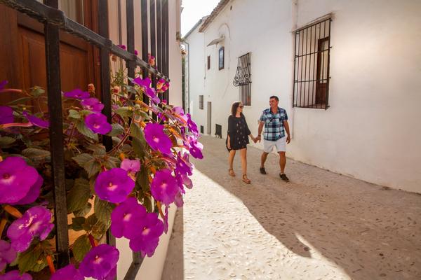 Benissa, centro historico del medievo
